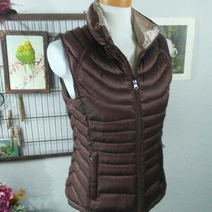 Goose Down Quilted Vest
